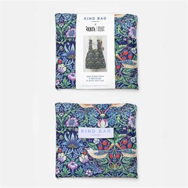 Kind Bag Medium Reusable Shopping Bag - Strawberry Thief