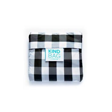 Kind Bag Mini Reusable Shopping Bag - Gingham