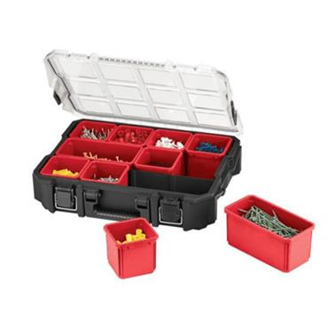 Keter PRO Organiser 10 Compartments Black