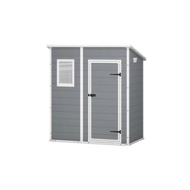 Keter Manor Pent Shed 6x4ft Grey