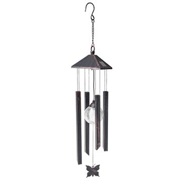 Solar Butterfly Wind Chime Light