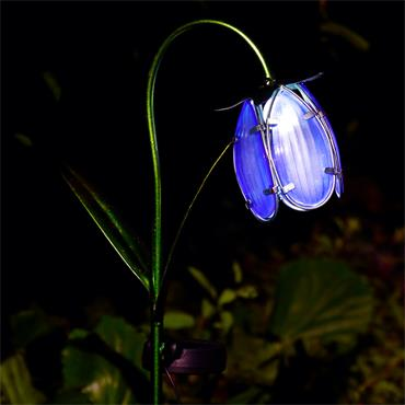 Solar Bluebell Stake Light