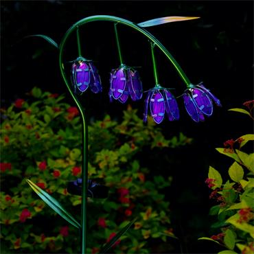 Large Solar Bluebell Stake Light