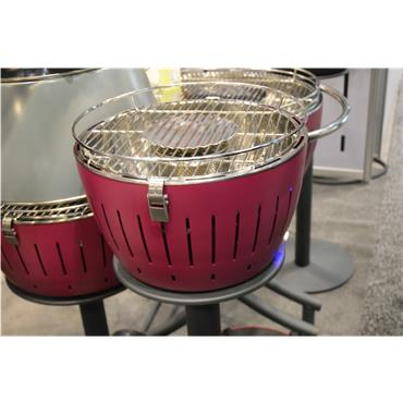 LotusGrill G340 13in Barbeque Blazing Red