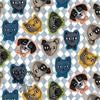 Little Wagon's Cat & Dog Face Covering (XS)