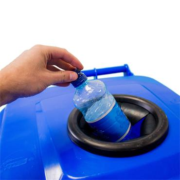 240L Wheelie Bin Custom Bottle aperture
