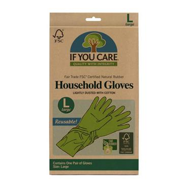 IF YOU CARE Latex Gloves Large