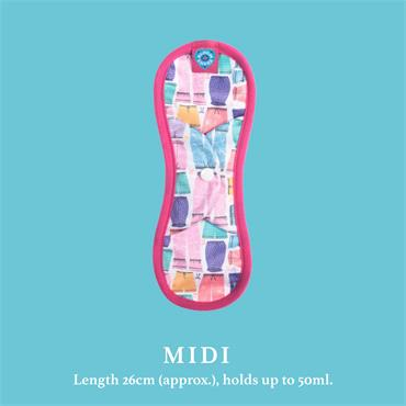Nora Singles Reusable Pads - Midi