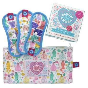 Reusable Sanitary Pads - Nora Mini Pack