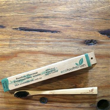 Charcoal Enhanced Ecotoothbrush - CHILD SOFT