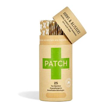 Patch Organic Bamboo Plasters - with Aloe Vera (25 pack)