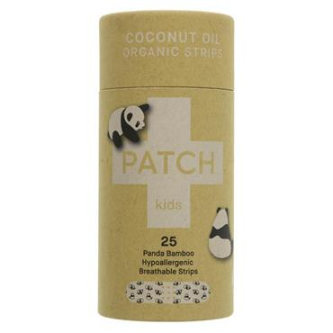 Patch Organic Bamboo Kids Plasters - with Coconut Oil (25 pack)