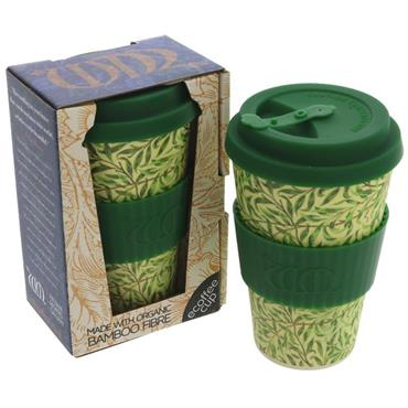 Reusable Bamboo Coffee Cup - Willow Design (400ml)