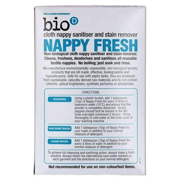 Suma BIO D NAPPY FRESH 500G