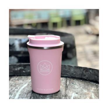 Neon Kactus Travel Mug - Flamingo - 380ml