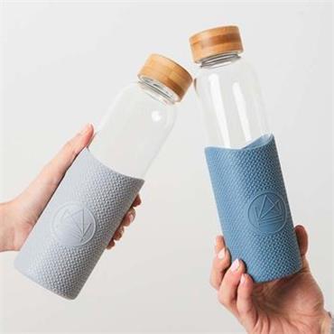Neon Kactus Glass Water Bottle - Super Sonic - 550ml
