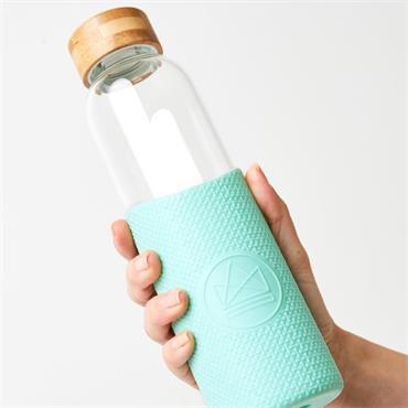 Neon Kactus Glass Water Bottle - Free Spirit - 550ml