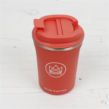 Stainless Steel Coffee Cup - Dream Believer Coral -12OZ/380ml