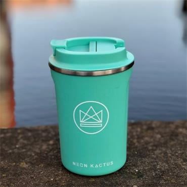 Stainless Steel Coffee Cup - Free Spirit - Mint - 12OZ/380ml