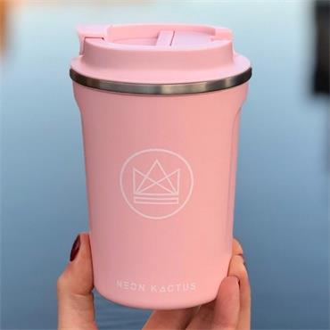 Stainless Steel Coffee Cup - Flamingo - Pink - 12OZ/380ml