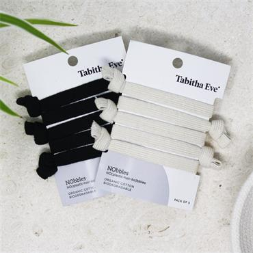 Tabitha Eve NObbles - Plastic Free Hair Ties (Natural)