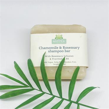 NatZen Chamomile & Rosemary Shampoo Bar
