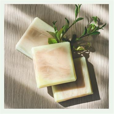 NatZen Green Tea & Blue Clay Soap