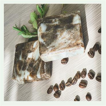 NatZen Coffee & Mint Soap