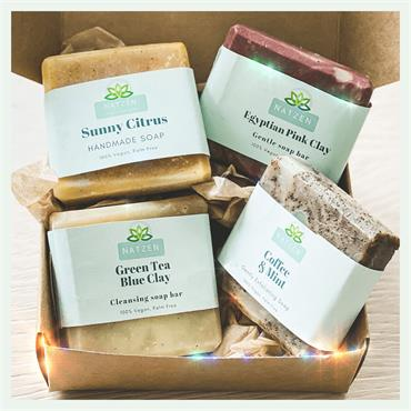 NatZen Handcrafted Soap Collection Set