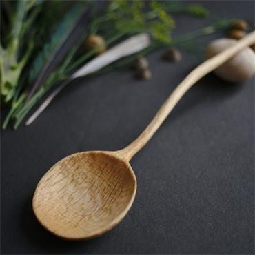 Oak and Jay Wooden cooking spoon | Hand carved oak wood | No. 112