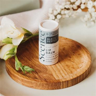 Scence Lip Balm - Black Pepper 6.5g tube
