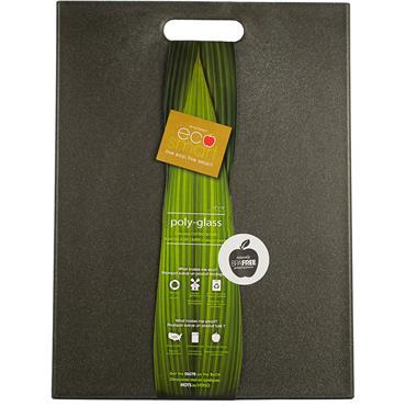 eco smart PolyGlass cutting board - Black