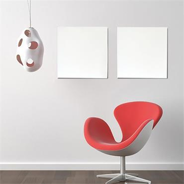 plusheat + 350w Infrared Aluminium Heating Panel
