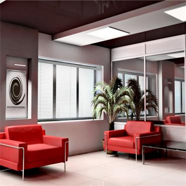 plusheat + 600w Infrared Glass Heating Panel