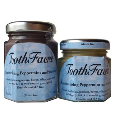 Toothfaerie Peppermint & Spearmint 85ml