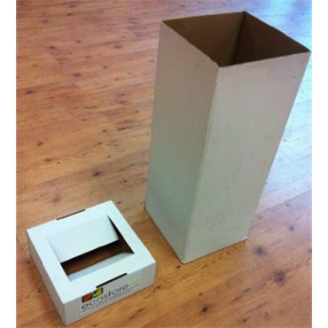 Cardboard Eco Bin - Pack of 25
