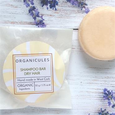 Organicules Shampoo Bar Dry Hair - Bag