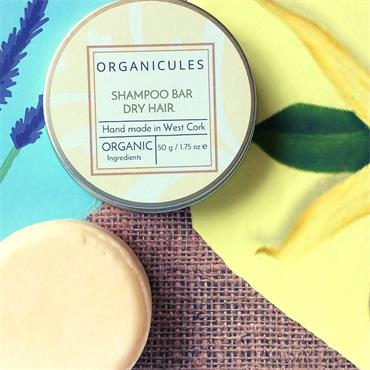 Organicules Shampoo Bar Dry Hair - Tins