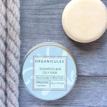 Organicules Shampoo Bar Oily Hair - Tins
