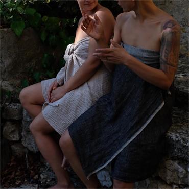 Blasta Henriet Bath Towel Herring