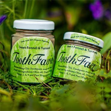 Toothfaerie Sweet Fennel & Turmeric 85ml
