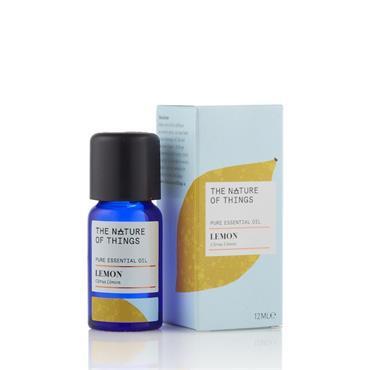 The Nature of Things Lemon Essential Oil - Organic - 12ml