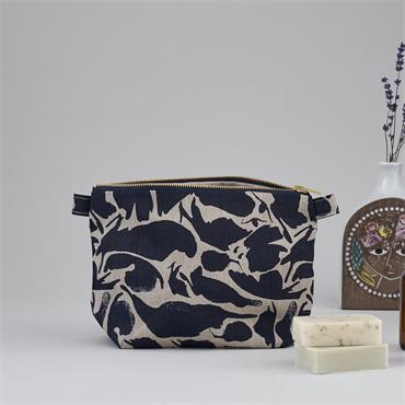 Blasta Henriet Large Wash Bag Navy