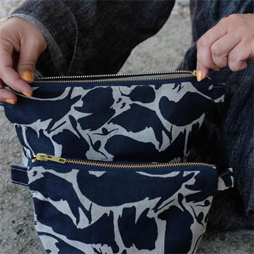 Blasta Henriet Large Wash Bag Navy