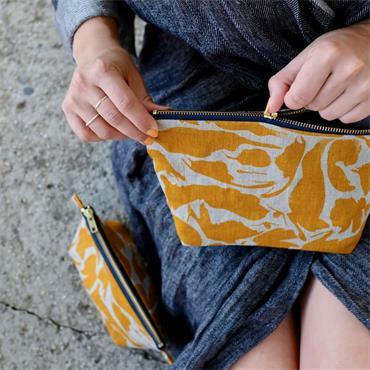 Blasta Henriet Large Wash Bag Yellow