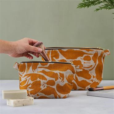 Blasta Henriet Small Wash Bag Yellow