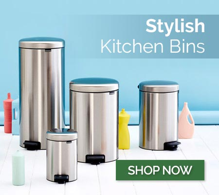 Stylish Kitchen Bins - Shop Now