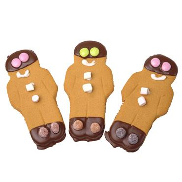 Ginger Bread Men Buns