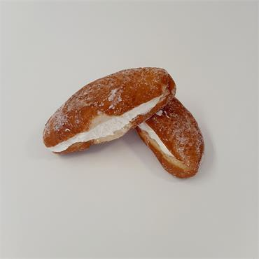 Mock Cream Doughnuts