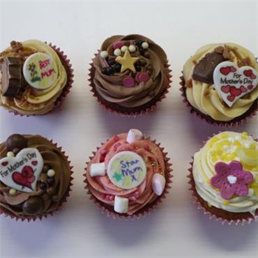 Mother's Day Cup Cakes (6)